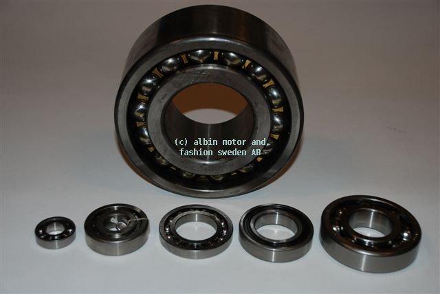 Albin kogellager 6207 voor de Albinmotor met kombi keerschroef uitvoering en voor de keerkoppeling van de O22 en de AD21