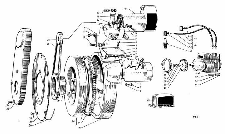 Albin O11 Electrisch systeem