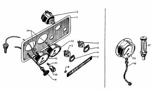 Albin O11 Instrumenten paneel