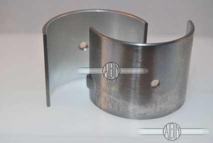 Albin drijfstanglagerschaal set voor 1 drijfstang standaard afmeting voor de Albinmotor O11/O21/O22 Maar ook voor de O1 en O2. Tevens voor de Volvo Penta C5 en C10
