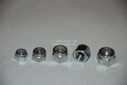 Zelfborgende moer 5/16 UNC. Locking nut 5/16 UNC
