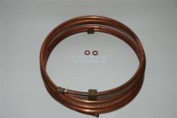 Albin olieleiding voor de mechanische oliedruk meter zoals op de meeste Albin-motoren is gemonteerd.