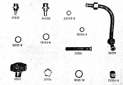 Albin AL23 Koelwaterpomp injector