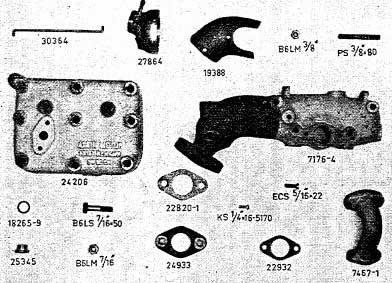 Albin AL23 Kop- & Spruitstuk benzine II