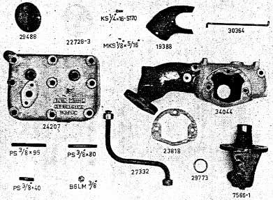 Albin AL23 Kop- & Spruitstuk petroleum