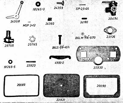 Albin AL23 Spruitstuk accessoires