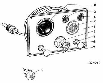 Albin O22 Instrumentenpaneel