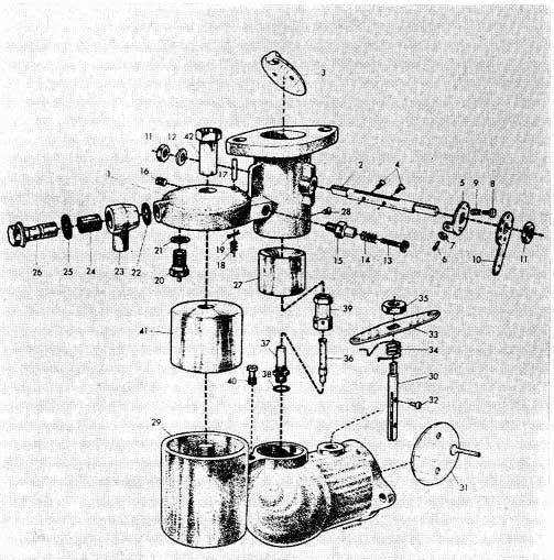 Albin O411 Carburateur 30 MOVD