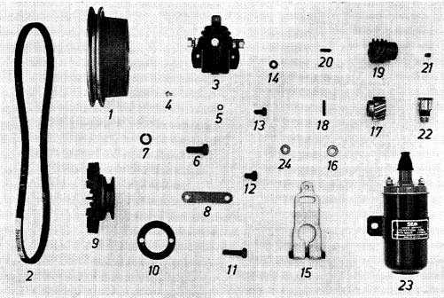 Albin O41 Electrisch systeem II