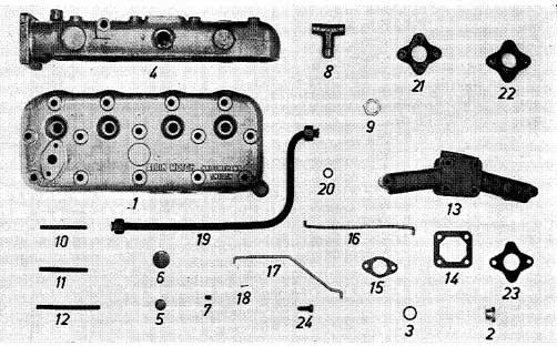 Albin O41 Kop- / Spruitstuk benzine