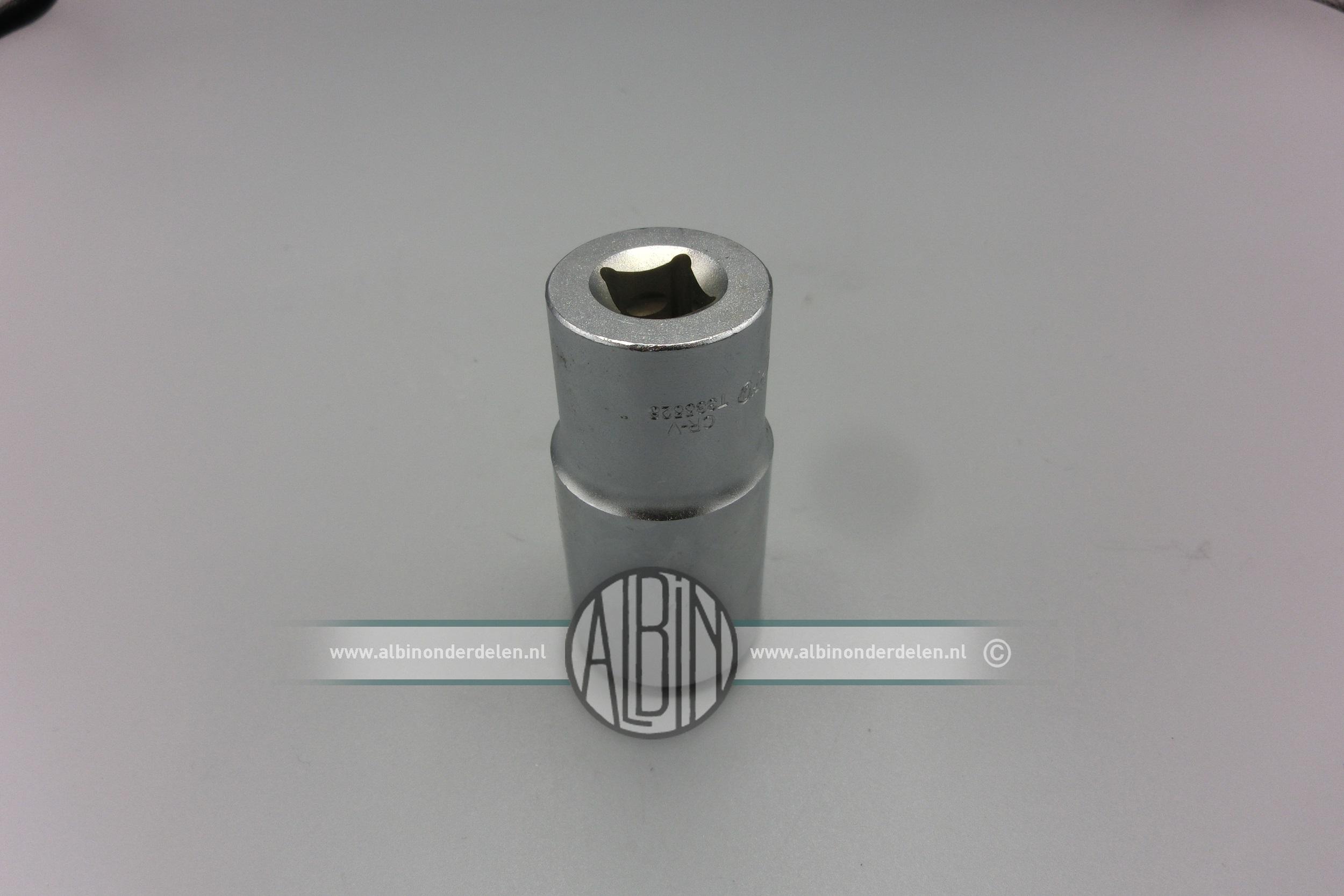 Dopsleutel voor 18mm bougie Bosch